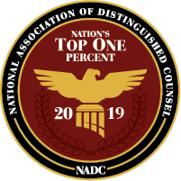 National-Association-of-Distinguished-Counsel-Top-One-Percent-2019